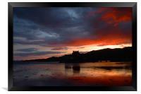 Eilean Donan Sunset , Framed Print