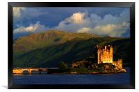 Eilean Donan sunset, Framed Print