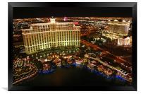 Las Vegas, Framed Print