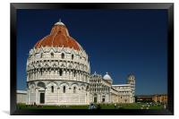 Pisa Cathedral, Framed Print