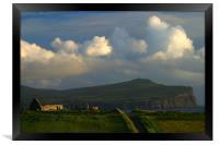 Skye evening, Framed Print