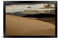 Golden Dunes , Framed Print