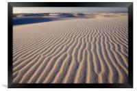 White Sands , Framed Print