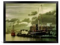 Bristols Sea Maidens, Framed Print