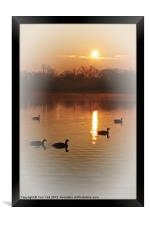 AND THE SUN WILL SHINE, Framed Print