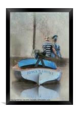 MANETS ARGENTUILE, Framed Print