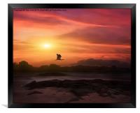 A New Sunset, Framed Print