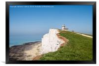 Belle Tout Lighthouse, Framed Print