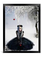Gothic Winter, Framed Print