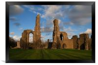 Neath Abbey, Framed Print