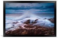 Gullane Bents Waves, Framed Print