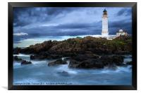 Corsewell Lighthouse, Framed Print