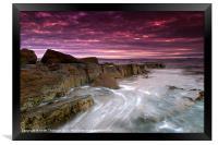 Coastal Sunrise, Framed Print