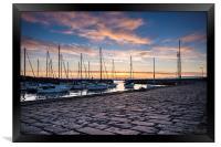 Musselburgh Harbour, Framed Print