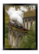 Glefinnan Viaduct Train, Framed Print