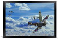 Battle in the Skies, Framed Print
