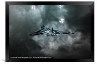 Vulcan Storm, Framed Print