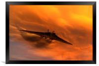 Vulcan Howl, Framed Print