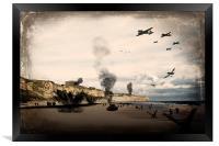 Omaha Beach, Framed Print