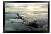 Spitfire Halo, Framed Print