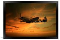 Spitfire Glory, Framed Print