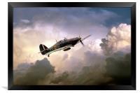 Hurricane YBW , Framed Print