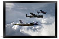 Bomber Tour , Framed Print