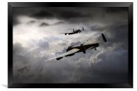 Lancaster Storm, Framed Print