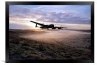 A Frosty Lancasters Morning, Framed Print