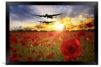 The Lancasters , Framed Print