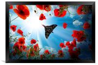 Vulcan Overhead, Framed Print