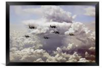 Spitfire Gang, Framed Print