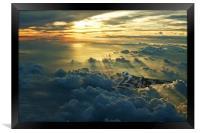 Vulcan Cloudscape, Framed Print