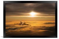 Another Vulcan Sunset, Framed Print