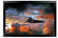Raptor Launch, Framed Print