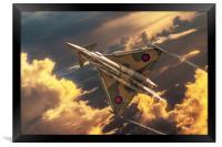 Typhoon GiNA, Framed Print