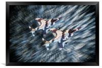 Arctic Hunters, Framed Print