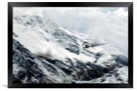 Typhoon Winter Pass, Framed Print