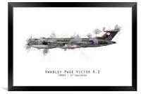 Victor Sketch - XH669, Framed Print
