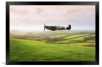 Flying Low, Framed Print