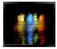 Fairground Reflection, Framed Print