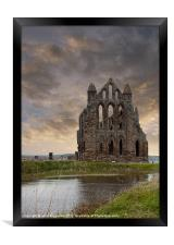 Whitby Abbey 1, Framed Print
