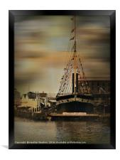 The S.S. Great Britain, Bristol., Framed Print