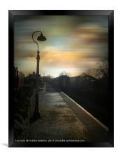 Bitton Railway Station, Somerset., Framed Print