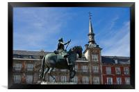 Plaza Mayor I, Framed Print