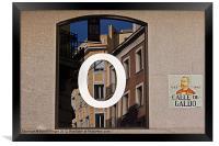 Madrid Reflections, Framed Print
