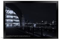 Sage Gateshead at Night, Framed Print