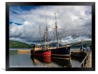 The Vital Spark, Framed Print