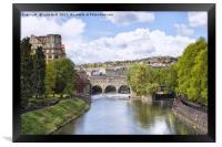 Pulteney Bridge Bath, Framed Print