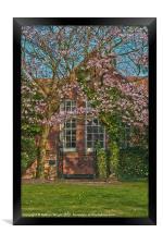 Old School house, Framed Print